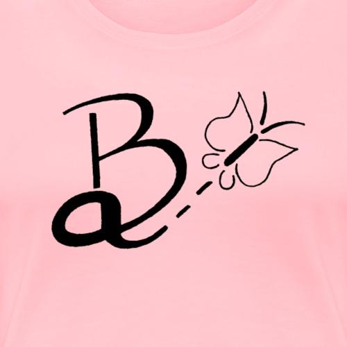 Be a Butterfly Logo - Women's Premium T-Shirt