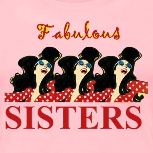 SISTERS 3 - Women's Premium T-Shirt