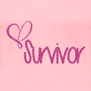 Breast Cancer Survivor - Women's Premium T-Shirt