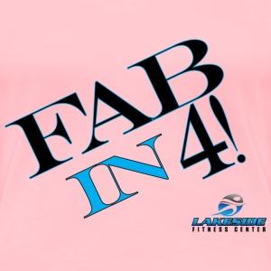 Fabin4 - Women's Premium T-Shirt