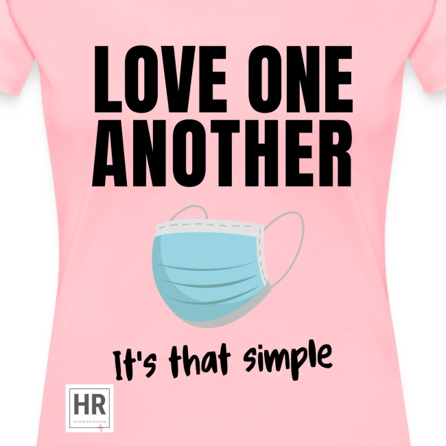 Love One Another - It's that simple