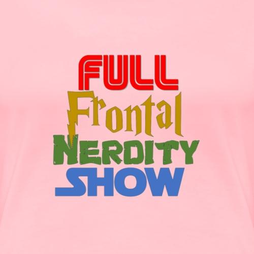 FFN Nerdy Fonts - Women's Premium T-Shirt