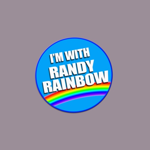 I'M WITH RANDY RAINBOW - Women's Premium T-Shirt