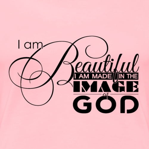 I am Beautiful - Women's Premium T-Shirt