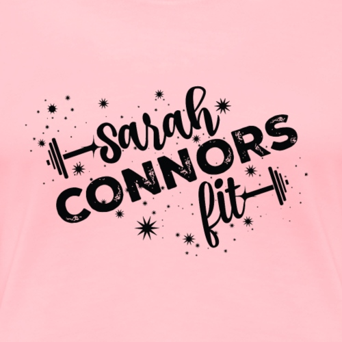 Sarah Connors Fit Black - Women's Premium T-Shirt