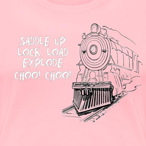 CHOO CHOO - Women's Premium T-Shirt