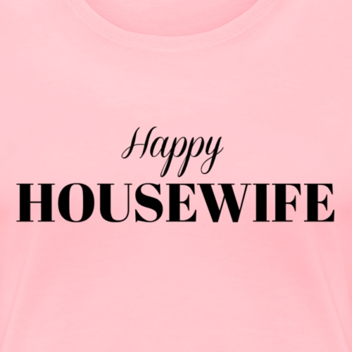 Happy Housewife in Black