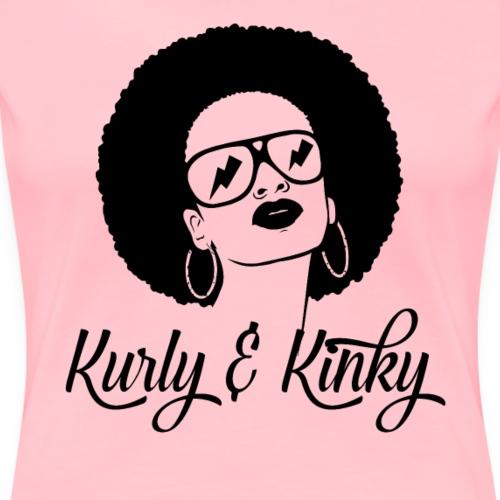 Kurly and Kinky apparel - Women's Premium T-Shirt