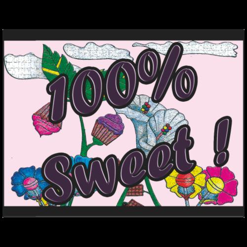 100% Sweet - Women's Premium T-Shirt