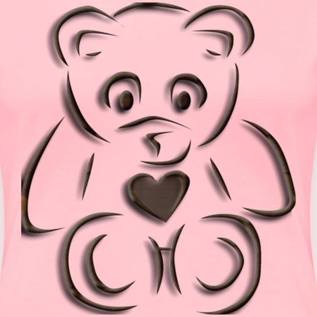 realistic teddy