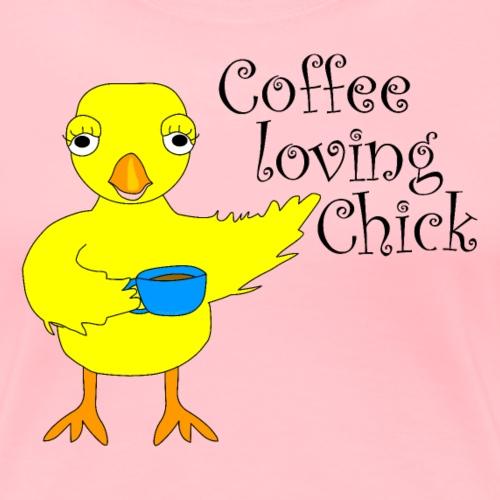 Coffee Chick Text - Women's Premium T-Shirt