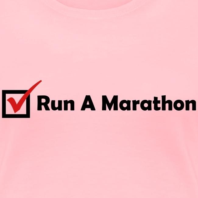 RUN MARATHON CHECK