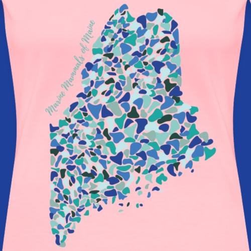 Seaglass Series-Maine - Women's Premium T-Shirt