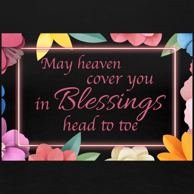 Blessings head to toe floral