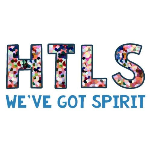 HTLS - we've got spirit {color mosaic} - Women's Premium T-Shirt