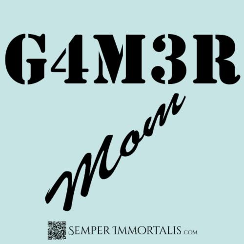 Gamer Mom (black) - Women's Premium T-Shirt