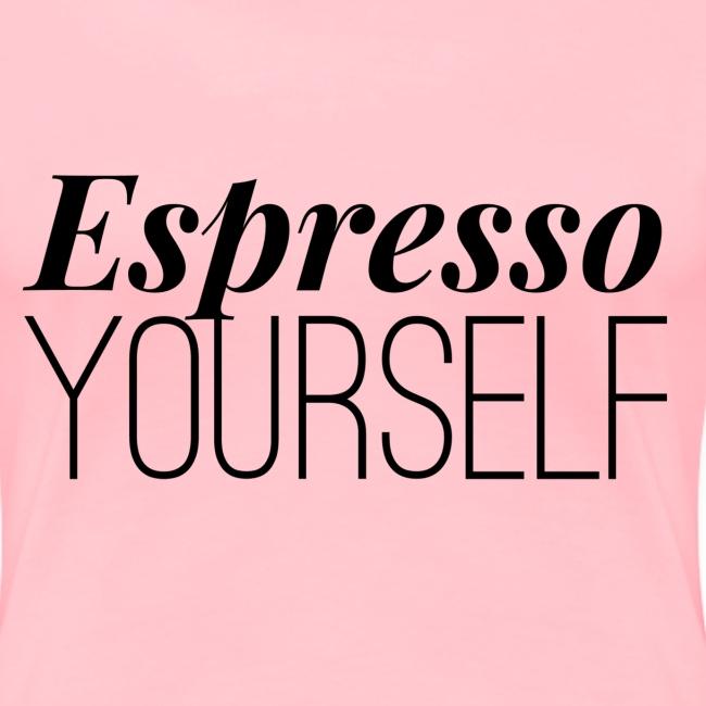 espresso yourself blac
