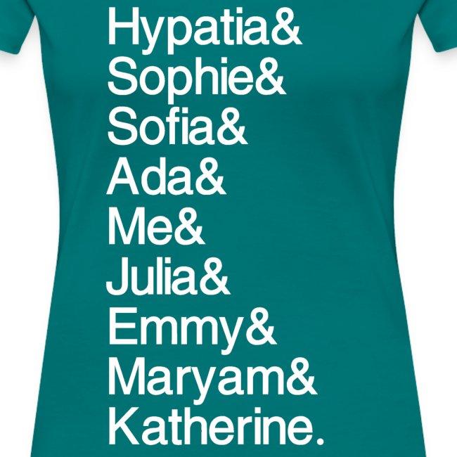 Women in Math & Me!