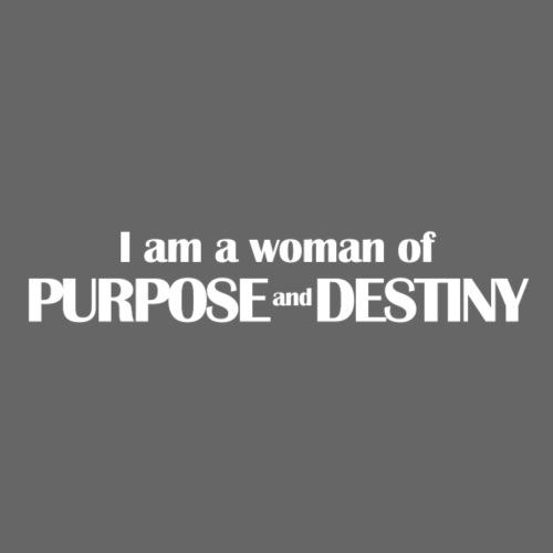 purpose_destiny_tshirt - Women's Premium T-Shirt