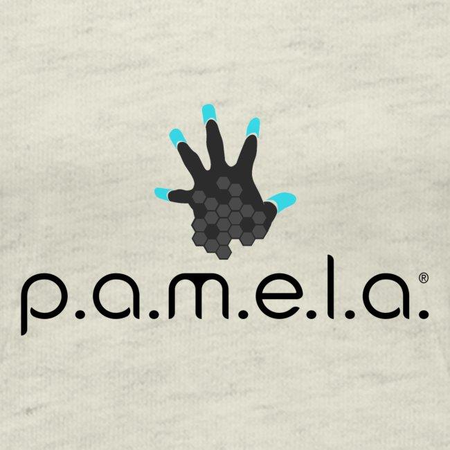P.A.M.E.L.A. Logo Black