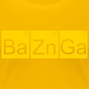 Bazinga ! Big Bang Theory - Women's Premium T-Shirt