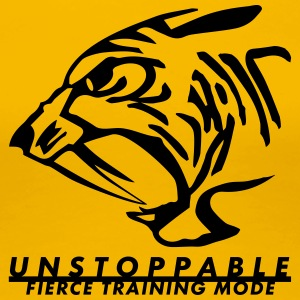 Unstoppable Tiger - Women's Premium T-Shirt