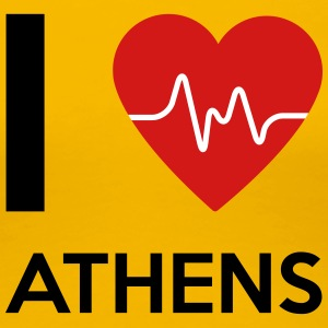I Love Athens - Women's Premium T-Shirt