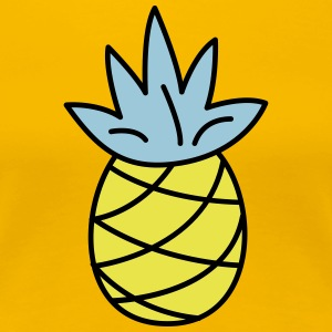 retro pineapple - Women's Premium T-Shirt