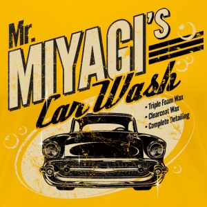 Mr. Miyagi's Car Wash - Women's Premium T-Shirt
