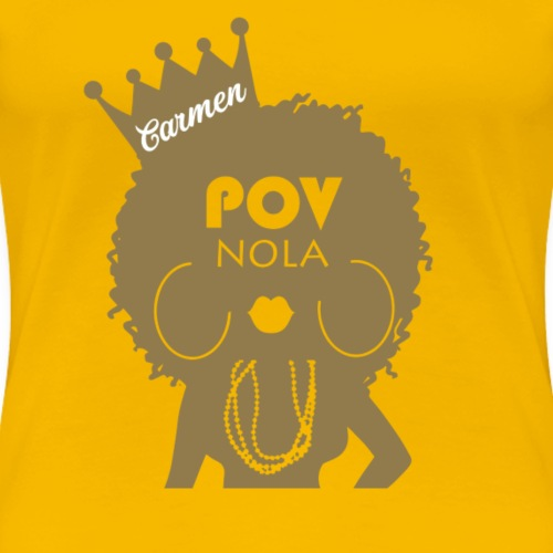 Carmen Personalized New Gold - Women's Premium T-Shirt