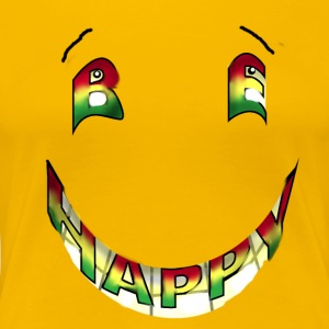 Rasta Be Happy - Women's Premium T-Shirt