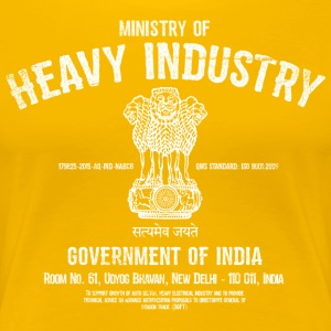 Ministry of Heavy Industry - Women's Premium T-Shirt