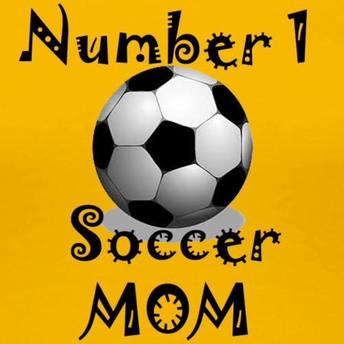 Soccer Mom - Women's Premium T-Shirt