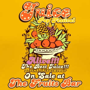 Juice top festival - Women's Premium T-Shirt