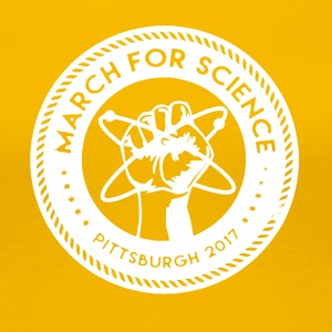 March for Science Pittsburgh Shirt - Women's Premium T-Shirt