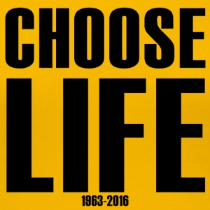 Choose Life 1963-2016 - Women's Premium T-Shirt