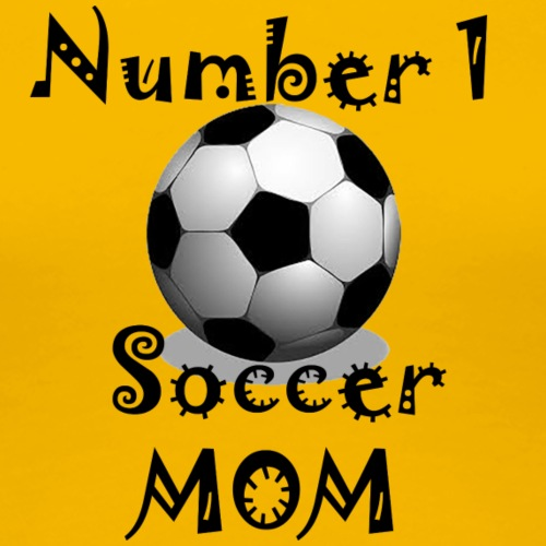 Soccer Mom - Women's Premium T-Shirt