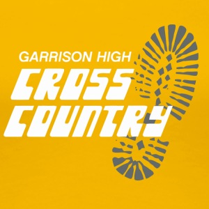 Garrison High Cross Country - Women's Premium T-Shirt