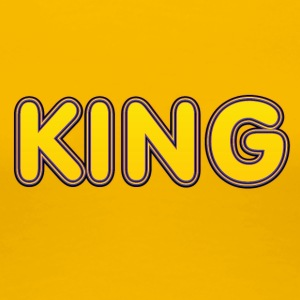 King yellow - Women's Premium T-Shirt