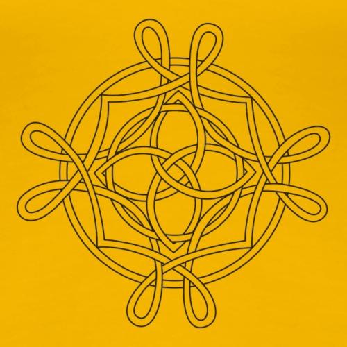 Celtic inspired knot. - Women's Premium T-Shirt