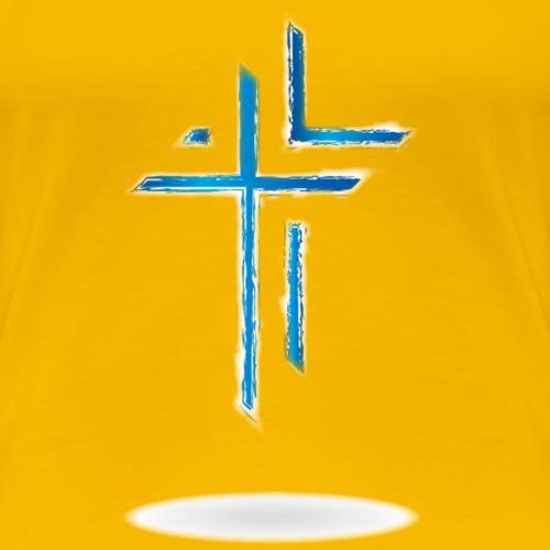 The Cross Style 1 - Women's Premium T-Shirt