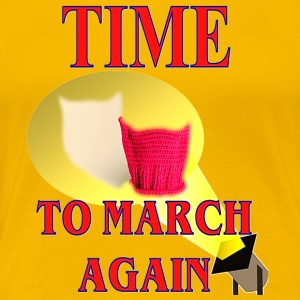 General Strike March 3-8-17 A Day Without A Woman - Women's Premium T-Shirt