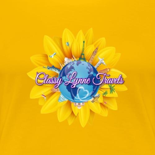 Classy Lynne Travels - Women's Premium T-Shirt
