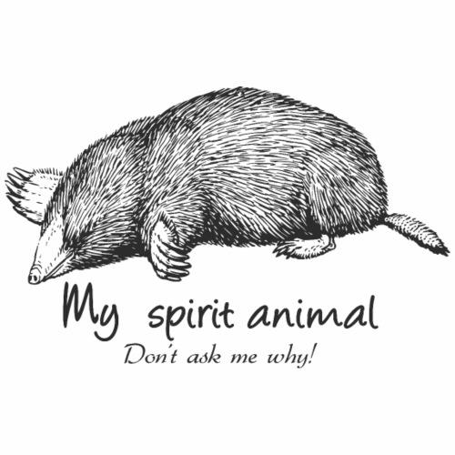 Mole Spirit Animal - Women's Premium T-Shirt