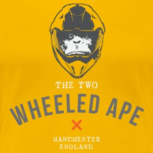 Two Wheeled Ape X design - Women's Premium T-Shirt