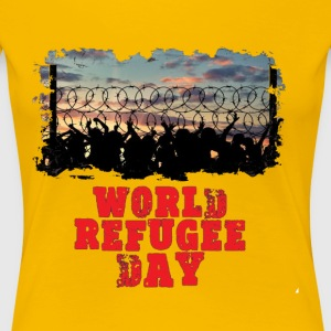 World Refugee Day Shirt - Women's Premium T-Shirt