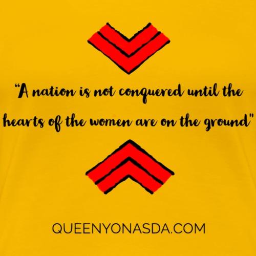 Hearts of Women - Women's Premium T-Shirt