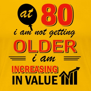 Funny 80 year old gifts - Women's Premium T-Shirt