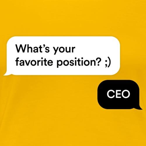 CEO - Women's Premium T-Shirt