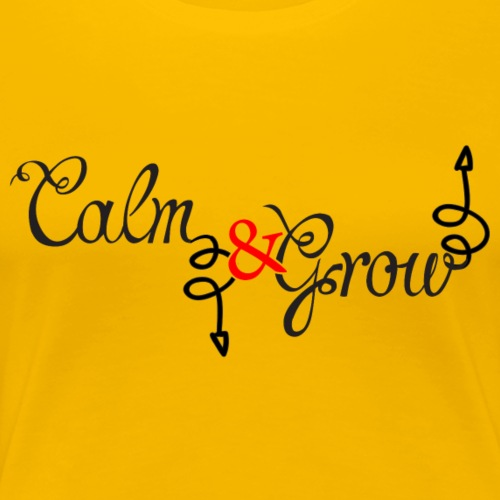 CALM Down - Women's Premium T-Shirt